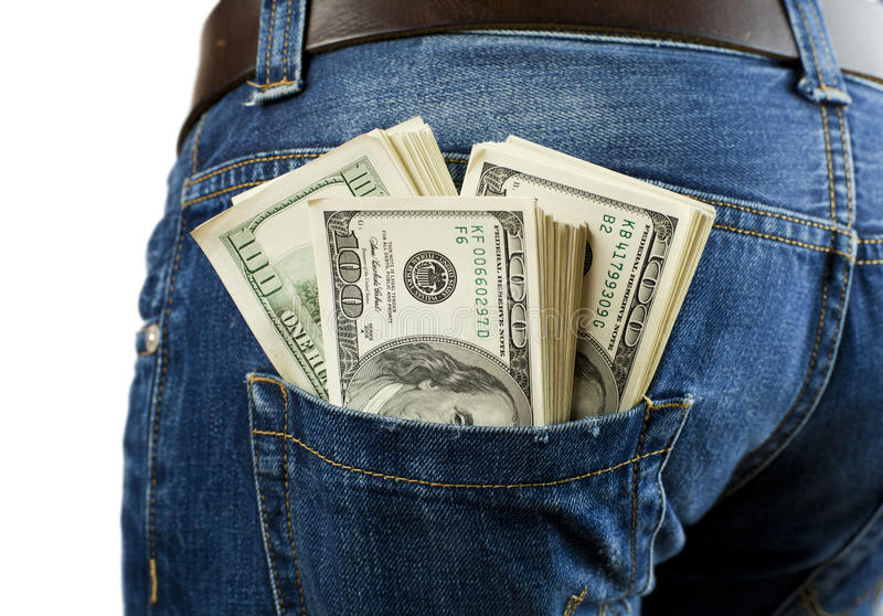 This image has an empty alt attribute; its file name is money-your-pocket-bunch-bills-jeans-35813836.jpg