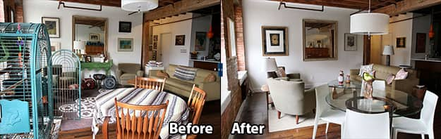 This image has an empty alt attribute; its file name is home-staging-before-after.jpg
