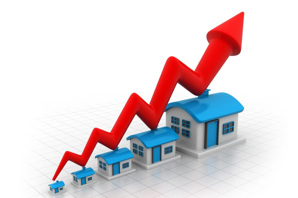 This image has an empty alt attribute; its file name is rising-home-prices-1024x683.jpg