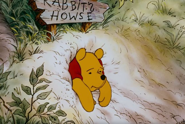 This image has an empty alt attribute; its file name is winnie-the-pooh-stuck.jpg
